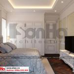 13 Mẫu nội thất phòng ngủ 4 biệt thự hiện đại mái thái tại hải phòng btd 0071