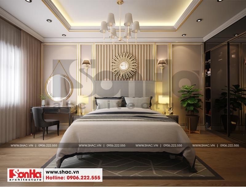 Thiết kế thi công nội thất nhà phố liền kề 97,5m2 phong cách tân cổ điển tại khu Shophouse Hạ Long – Quảng Ninh 13