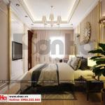 14 Mẫu nội thất tân cổ điển phòng ngủ 1 khu shophouse tại quảng ninh