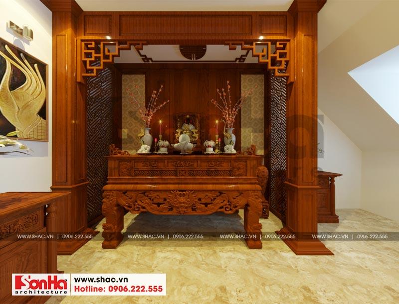 Thiết kế thi công nội thất nhà phố liền kề 97,5m2 phong cách tân cổ điển tại khu Shophouse Hạ Long – Quảng Ninh 15