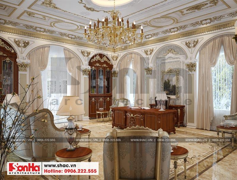 Thiết kế nội thất biệt thự lâu đài xa hoa bậc nhất phố núi Pleiku (Gia Lai) 12