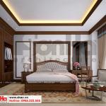 16 Mẫu nội thất phòng ngủ 9 biệt thự cổ điển tại ninh bình sh btp 0134