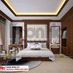 17 Thiết kế nội thất phòng ngủ 10 biệt thự kiểu pháp tại ninh bình sh btp 0134
