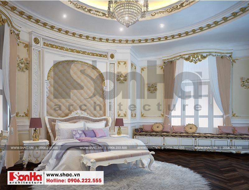 Thiết kế nội thất biệt thự lâu đài xa hoa bậc nhất phố núi Pleiku (Gia Lai) 14