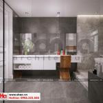 18 Mẫu nội thất phòng tắm wc khu shophouse tại quảng ninh