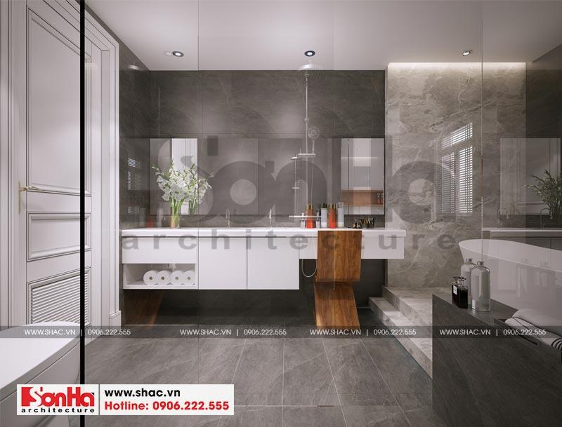 Thiết kế thi công nội thất nhà phố liền kề 97,5m2 phong cách tân cổ điển tại khu Shophouse Hạ Long – Quảng Ninh 18