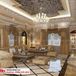 19 Thiết kế nội thất phòng karaoke biệt thự lâu đài 3 tầng 1 tum tại gia lai