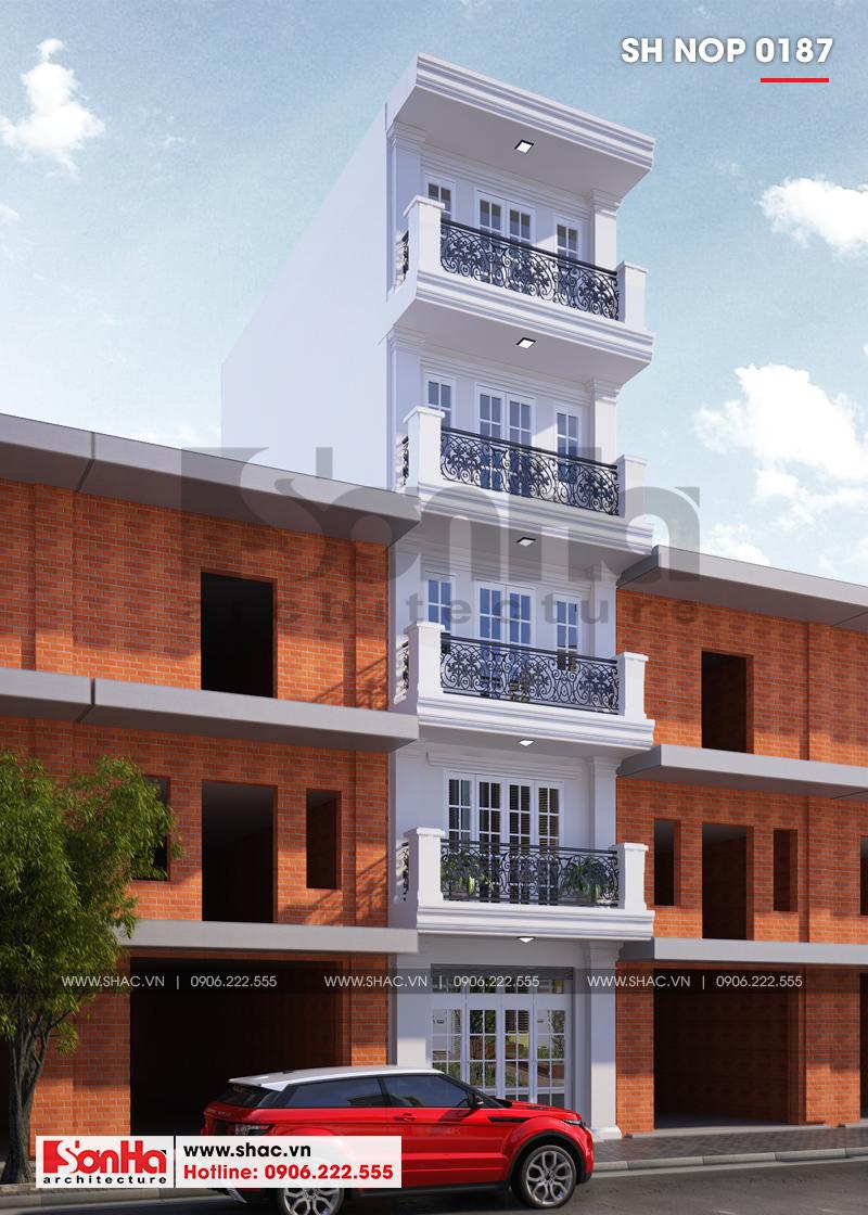 Kiến trúc ngôi nhà được thiết kế mang vẻ đẹp vừa cổ điển vừa hiện đại nổi bật và cuốn hút