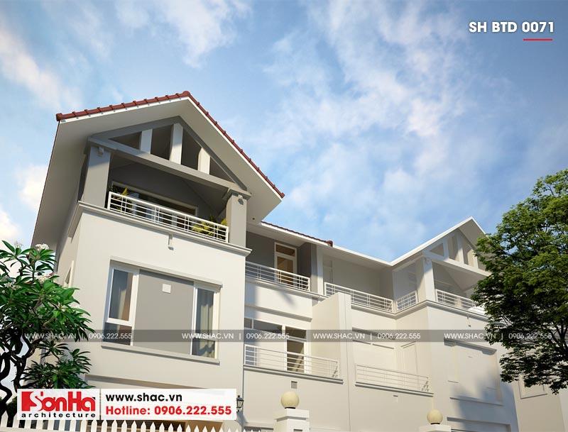 Kiến trúc ngôi biệt thự 3 tầng chinh phục mọi ánh nhìn bởi vẻ đẹp hiện đại được tại thành bởi những vật liệu tiên tiến nhất