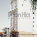 2 Mẫu thiết kế khách sạn cổ điển tại hải phòng sh ks 0066