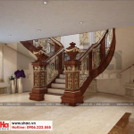 21 Thiết kế nội thất sảnh thang hầm rượu biệt thự lâu đài tại gia lai