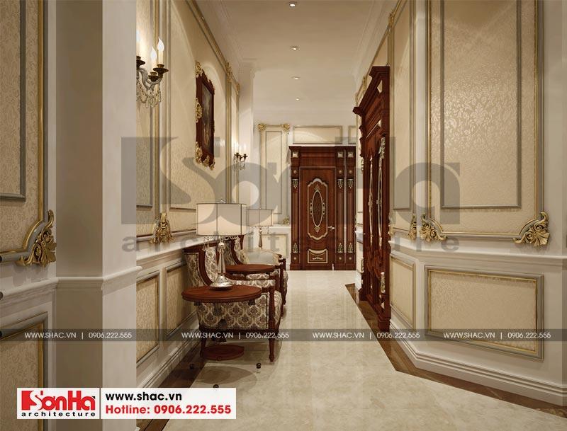 Thiết kế nội thất biệt thự lâu đài xa hoa bậc nhất phố núi Pleiku (Gia Lai) 27