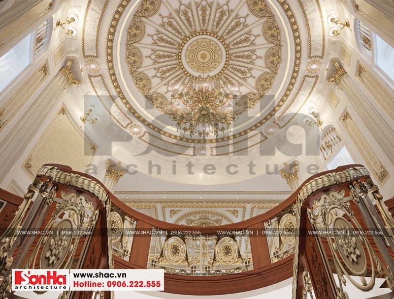 Thiết kế nội thất biệt thự lâu đài xa hoa bậc nhất phố núi Pleiku (Gia Lai) 24
