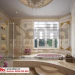 26 Mẫu nội thất phòng tắm wc biệt thự lâu đài xa hoa tại gia lai