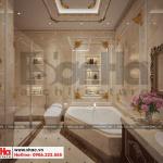 27 Thiết kế nội thất phòng tắm wc biệt thự lâu đài 3 tầng 1 tum tại gia lai