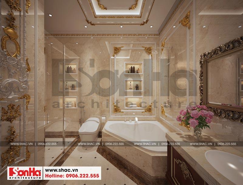 Thiết kế nội thất biệt thự lâu đài xa hoa bậc nhất phố núi Pleiku (Gia Lai) 18