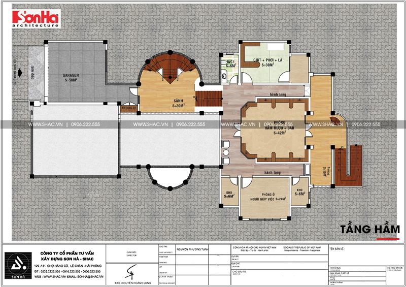 Thiết kế nội thất biệt thự lâu đài xa hoa bậc nhất phố núi Pleiku (Gia Lai) 28