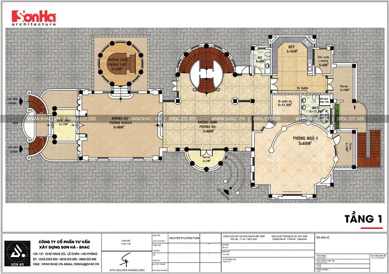 Thiết kế nội thất biệt thự lâu đài xa hoa bậc nhất phố núi Pleiku (Gia Lai) 29