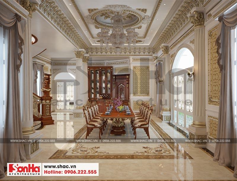 Thiết kế nội thất biệt thự lâu đài xa hoa bậc nhất phố núi Pleiku (Gia Lai) 3