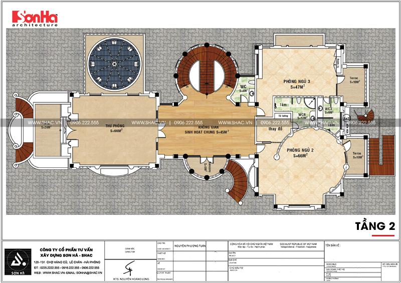 Thiết kế nội thất biệt thự lâu đài xa hoa bậc nhất phố núi Pleiku (Gia Lai) 30