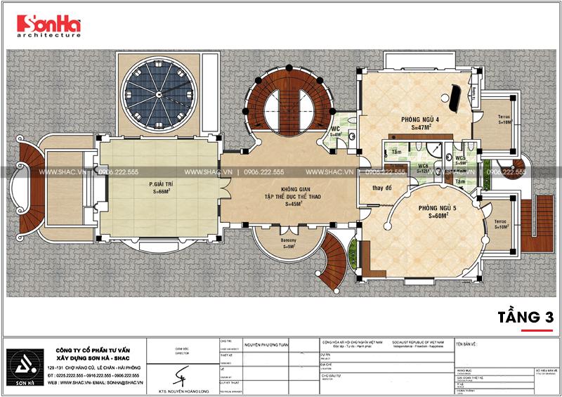 Thiết kế nội thất biệt thự lâu đài xa hoa bậc nhất phố núi Pleiku (Gia Lai) 31