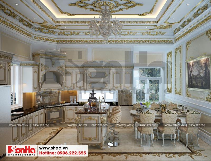 Thiết kế nội thất biệt thự lâu đài xa hoa bậc nhất phố núi Pleiku (Gia Lai) 4