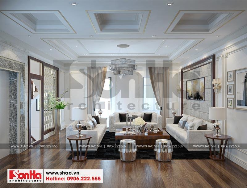 Thiết kế thi công nội thất nhà phố liền kề 97,5m2 phong cách tân cổ điển tại khu Shophouse Hạ Long – Quảng Ninh 4