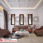 4 Thiết kế nội thất phòng khách biệt thự hiện đại 3 tầng tại hải phòng sh btd 0071