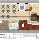 5 Mặt bằng công năng tầng 2 khách sạn 3 sao mặt tiền 8m tại hải phòng sh ks 0066