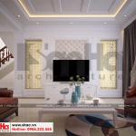 5 Mẫu nội thất phòng khách biệt thự hiện đại mặt tiền 9m tại hải phòng sh btd 0071