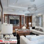 5 Thiết kế nội thất phòng khách tân cổ điển khu shophouse tại quảng ninh