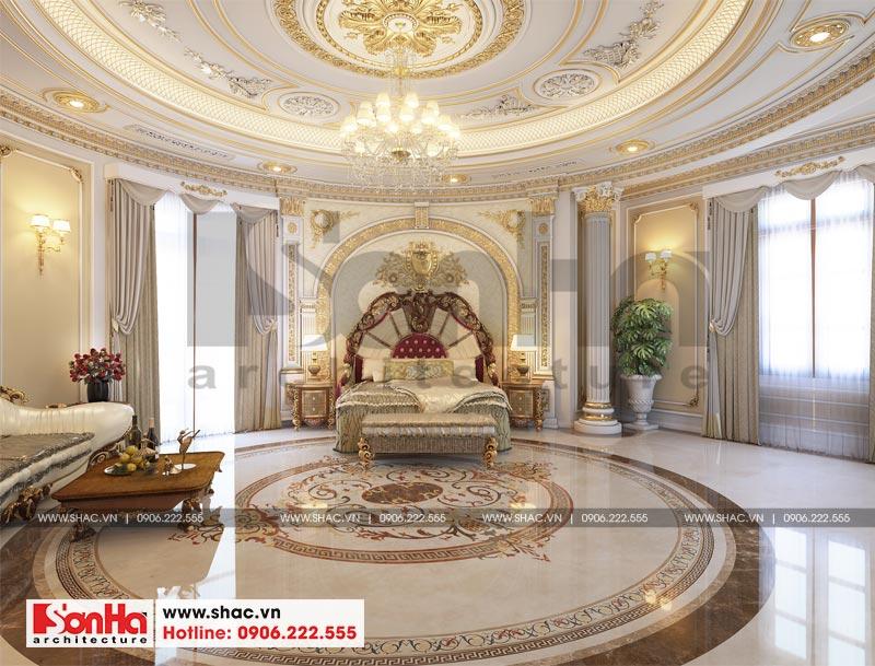 Thiết kế nội thất biệt thự lâu đài xa hoa bậc nhất phố núi Pleiku (Gia Lai) 5