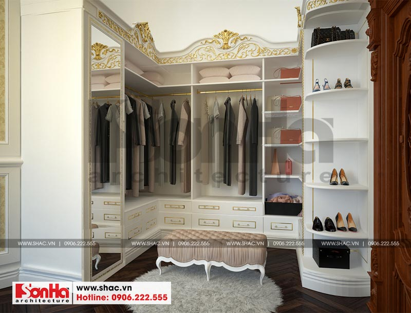 Thiết kế nội thất biệt thự lâu đài xa hoa bậc nhất phố núi Pleiku (Gia Lai) 6