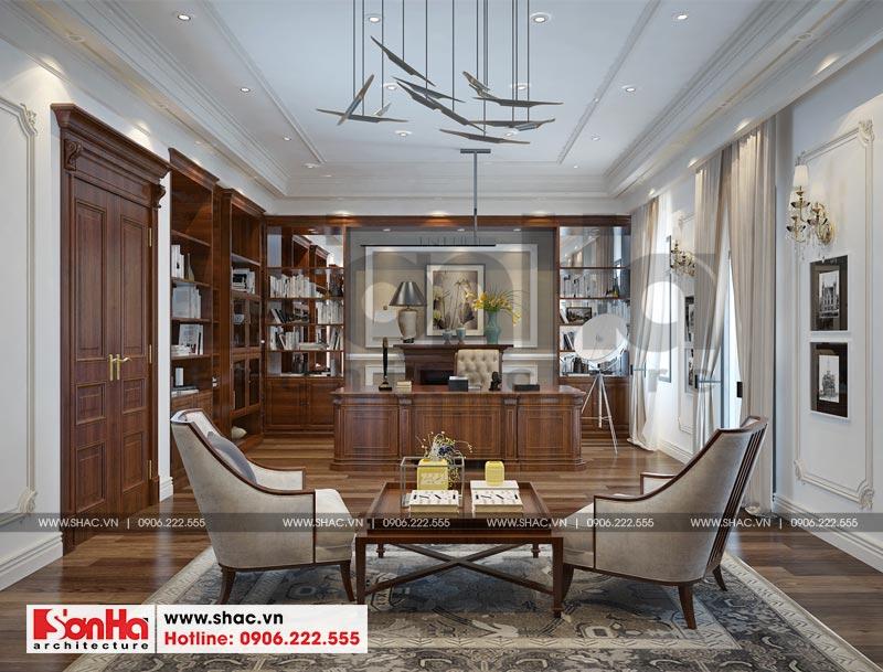 Thiết kế thi công nội thất nhà phố liền kề 97,5m2 phong cách tân cổ điển tại khu Shophouse Hạ Long – Quảng Ninh 6