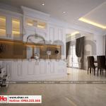 7 Mẫu nội thất phòng bếp ăn biệt thự hiện đại đẹp tại hải phòng sh btd 0071
