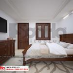 8 Mẫu nội thất phòng ngủ bảo vệ biệt thự pháp tại ninh bình sh btp 0134