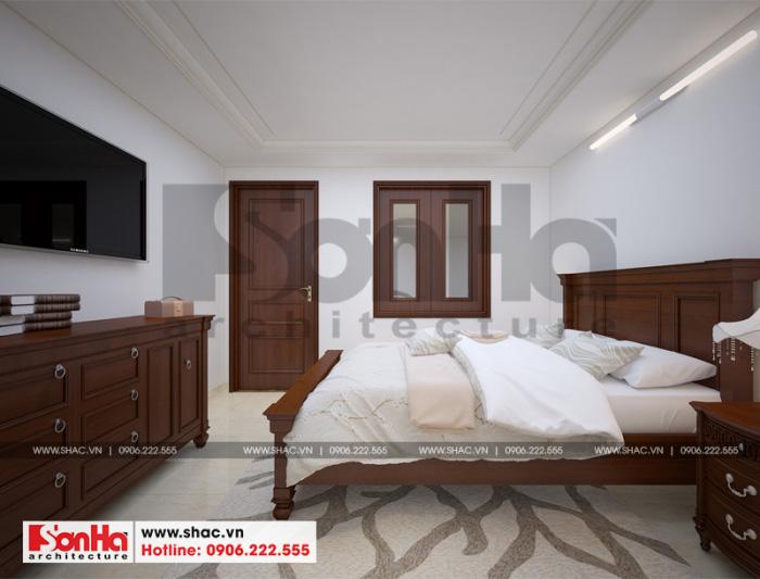 Thiết kế phòng ngủ giản dị nhưng đẹp mắt với đồ nội thất gỗ tự nhiên