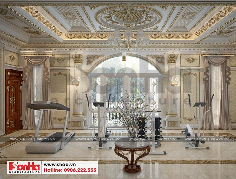 Thiết kế nội thất biệt thự lâu đài xa hoa bậc nhất phố núi Pleiku (Gia Lai) 20