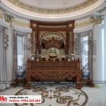9 Thiết kế nội thất phòng thờ biệt thự lâu đài tại gia lai