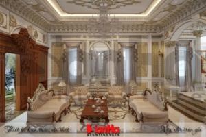 BÌA thiết kế nội thất cổ điển biệt thự lâu đài xa hoa tại gia lai
