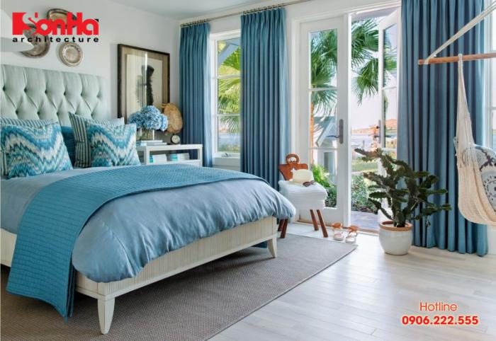 Thiết kế nội thất phòng ngủ đẹp và phong thủy cho người mệnh Mộc