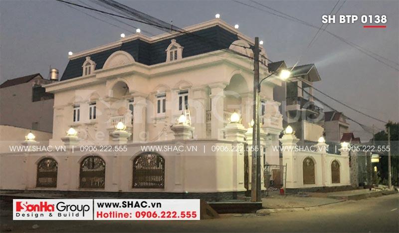 1 Ảnh thực tế biệt thự tân cổ điển đẹp tại đồng nai sh btp 0138