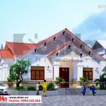 1 Thiết kế biệt thự tân cổ điển đẹp tại hải phòng sh btp 0136