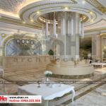 1 Thiết kế nội thất sảnh lễ tân khách sạn đẹp tại bắc ninh