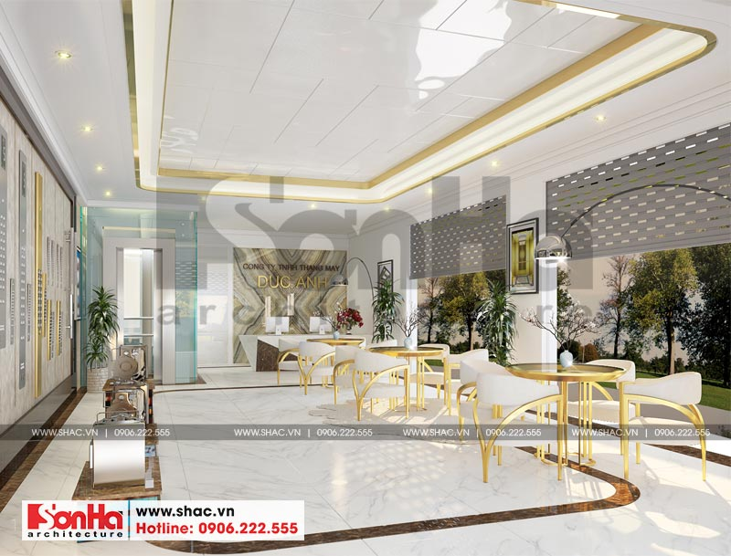 Thiết kế nội thất văn phòng làm việc kết hợp showroom tại Waterfont City (Hải Phòng) 1