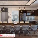 10 Mẫu nội thất phòng bếp hiện đại nhà phố liền kề tại khu đô thị waterfront hải phòng wfc 005