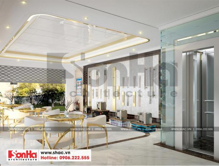 Showroom trưng bày mẫu thang máy nên được bố trí phù hợp với sản phẩm