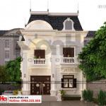 3 Thiết kế biệt thự phong cách tân cổ điển mặt tiền 9,2m tại đồng nai sh btp 0138