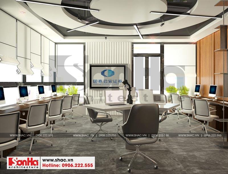 Thiết kế nội thất văn phòng làm việc kết hợp showroom tại Waterfont City (Hải Phòng) 4