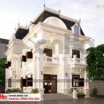 4 Thiết kế kiến trúc biệt thự tân cổ điển 2 mặt tiền tại đồng nai sh btp 0138